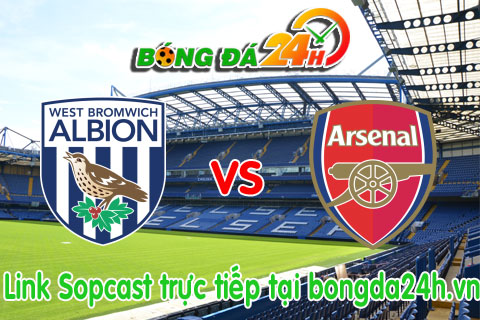 Link sopcast West Bromwich vs Arsenal (22h00-2111) hinh anh