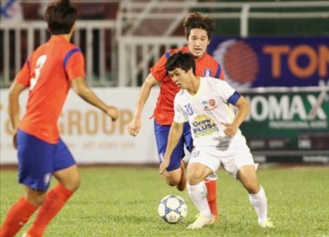 U21 HAGL vs U19 Han Quoc