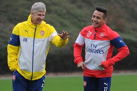 Khung hoang chan thuong tai Arsenal Sanchez van chua the nghi ngoi hinh anh