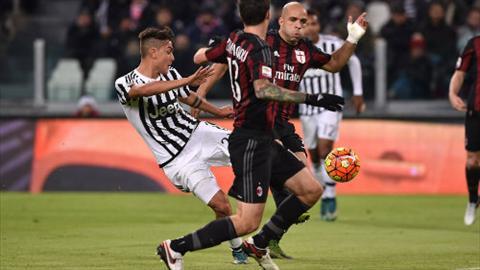 Video clip ban thang Juventus 1-0 AC Milan (Vong 13 Serie A 20152016) hinh anh