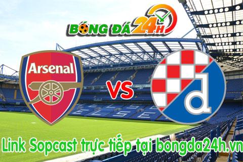 Link sopcast Arsenal vs Dinamo Zagreb (02h45-2511) hinh anh