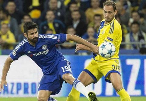 HLV Mourinho ly giai man dau khau voi Diego Costa giua tran gap Maccabi hinh anh