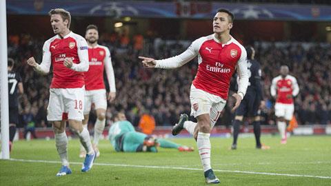 Tien dao Alexis Sanchez Co may ghi ban da tro lai hinh anh 2