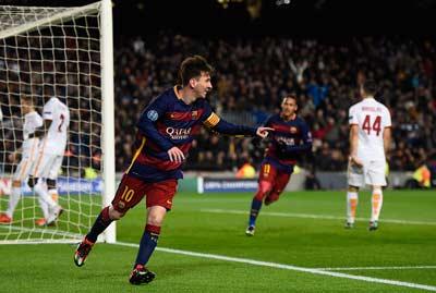Video clip ban thang Barca 6-1 Roma (Vong bang Champions League 201516) hinh anh
