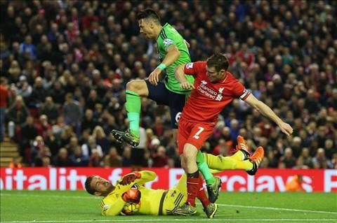 "Milner: ""San nha Anfield chua giup ich nhieu cho Liverpool"""