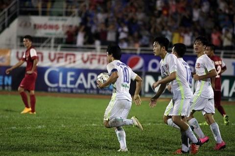 U21 HAGL 2-0 U19 Han Quoc (Ket thuc): Sieu sao Cong Phuong giup U21 HAGL bao ve thanh cong ngoi vo dich