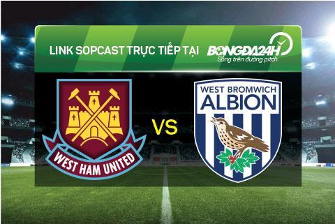 Link sopcast xem truc tiep West Ham vs West Bromwich (21h05-2911) hinh anh