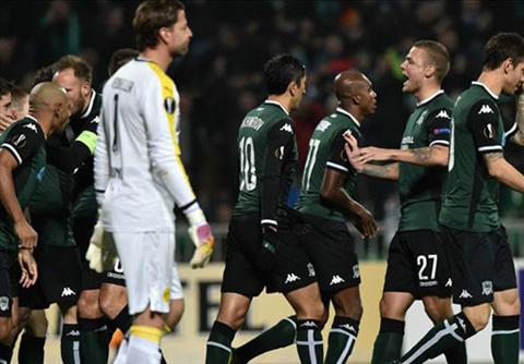 Video clip ban thang Krasnodar 1-0 Dortmund (Vong bang Europa League 20152016) hinh anh