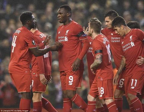 Video clip ban thang Liverpool 2-1 Bordeaux (Vong bang Europa League 20152016) hinh anh