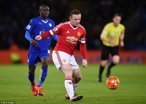 Leicester City 1-1 MU Wayne Rooney dinh chan thuong nhe hinh anh 2
