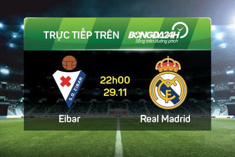Eibar 0-2 Real Madrid (Ket thuc): Thang loi nhat nheo