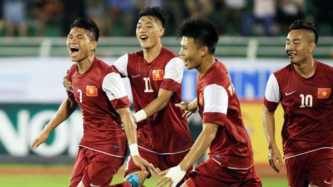 TRUC TIEP U21 Viet Nam 1-1 U21 Singapore (Hiep 2): San bang ty so phut bu gio