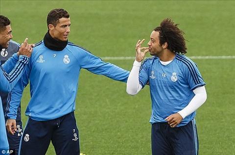 Ronaldo trong mau