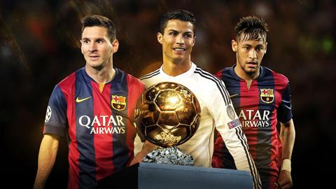 Fan Real bau Messi gianh QBV FIFA 2015 hinh anh