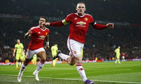 Ghi ban thang quan trong cho MU, Wayne Rooney vuon den cot moc dang nho hinh anh