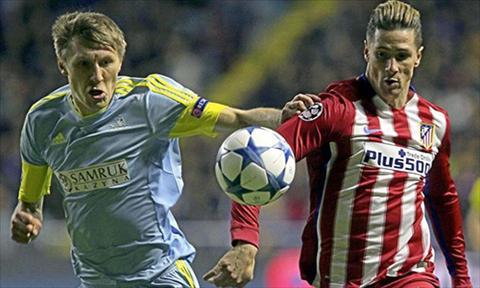 Tuong thuat, tong hop tran dau Astana 0-0 vs Atletico Madrid hinh anh 2