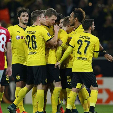 Video clip ban thang Dortmund 4-0 Qabala (Vong bang Europa League 20152016) hinh anh