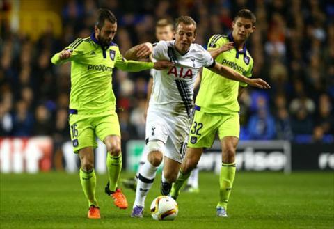 Video clip ban thang Tottenham 2-1 Anderlecht (Vong bang Europa League 20152016) hinh anh