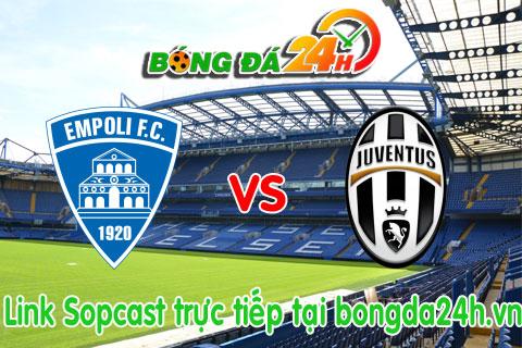 Link sopcast Empoli vs Juventus (21h00-0811) hinh anh