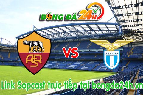 Link sopcast Roma vs Lazio (21h00-0811) hinh anh