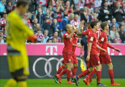 Video clip ban thang Bayern 4-0 Stuttgart (Vong 12 Bundesliga 201516) hinh anh