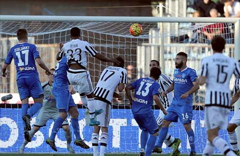 Video clip ban thang Empoli 1-3 Juventus (Vong 12 Serie A 201516) hinh anh