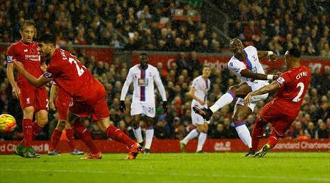 Video clip ban thang Liverpool 1-2 Crystal Palace (Vong 12 Ngoai hang Anh 201516) hinh anh