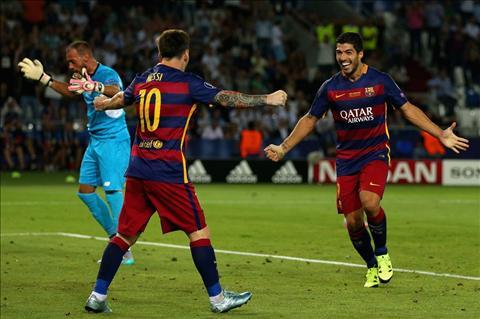 Lionel Messi tiec khi Suarez bi loai khoi top 3 Qua bong vang 2015 hinh anh 2