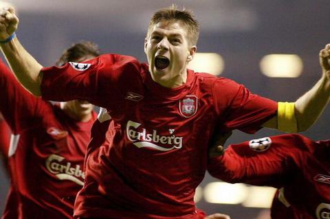 Cau chuyen ve su nghiep tien ve huyen thoai Steven Gerrard Liverpool hinh anh 5