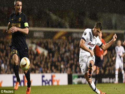 Video clip ban thang Tottenham 4-1 Monaco (Europa League 20152016) hinh anh