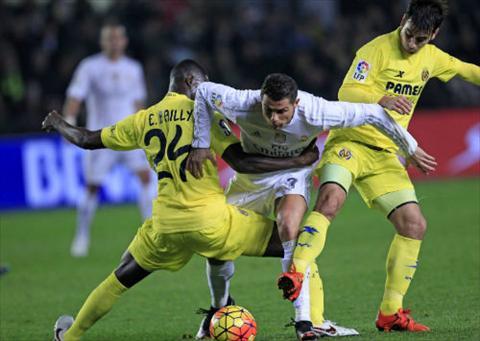Ronaldo va cac dong doi hoan toan bat luc truoc loi choi chat che cua Villarreal