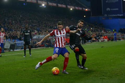 Video clip ban thang Atletico 2-1 Bilbao (Vong 15 La Liga 201516) hinh anh