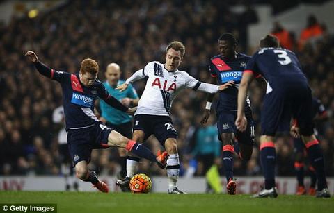 Video clip ban thang Tottenham vs Newcastle 1-2 Vong 16 Premier League hinh anh