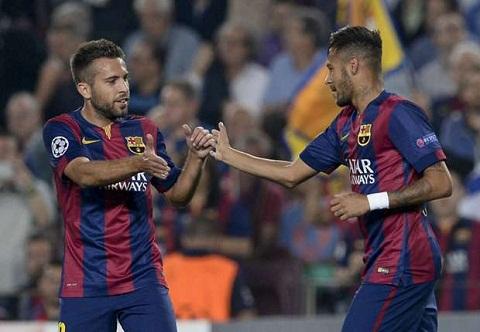 Jordi Alba Barca khong phu thuoc vao Messi hay Neymar hinh anh