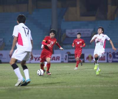 U23 Viet Nam 2-2 Cerezo Osaka