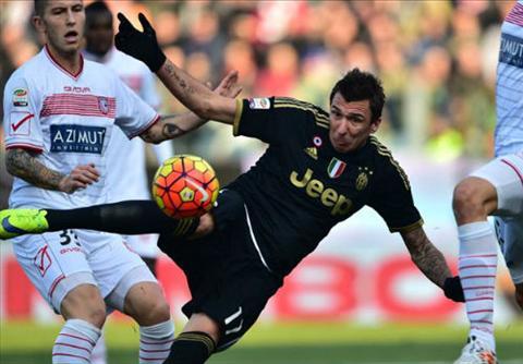 Video clip ban thang Carpi 2-3 Juventus (Vong 17 Serie A 201516) hinh anh