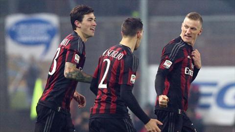 Video clip ban thang Frosinone 2-4 AC Milan (Vong 17 Serie A 20152016) hinh anh