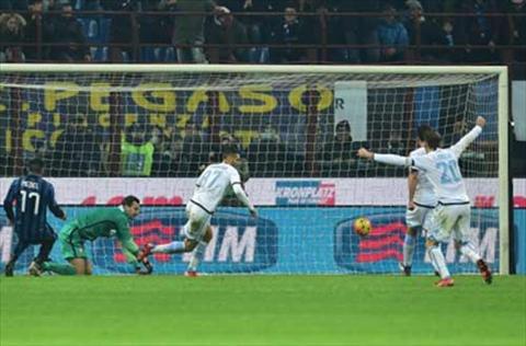 Video clip ban thang Inter Milan 1-2 Lazio (Vong 17 Serie A 20152016) hinh anh