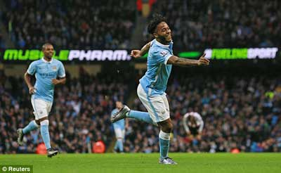 Man City 4-1 Sunderland