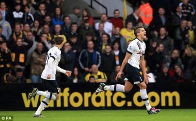 Watford 1-2 Tottenham