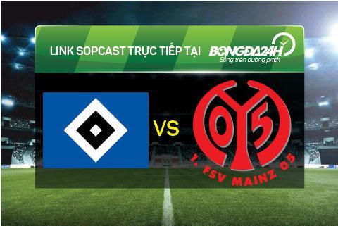 Link sopcast xem truc tiep Hamburger vs Mainz 05 (21h30-0512) hinh anh