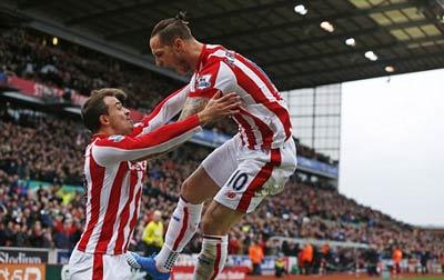 Stoke 2-0 Man City