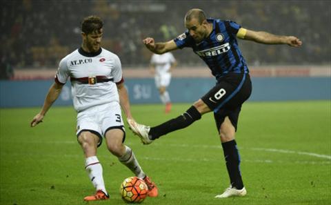 Video clip ban thang Inter Milan 1-0 Genoa (Vong 15 Serie A 20152016) hinh anh