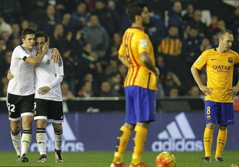 Video clip ban thang Valencia 1-1 Barcelona (Vong 14 La Liga 20152016) hinh anh