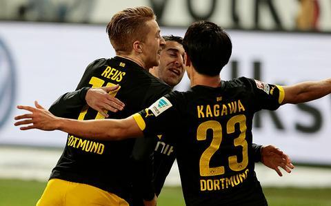 Video clip ban thang Wolfburg 1-2 Dortmund (Vong 15 Bundesliga 20152016) hinh anh