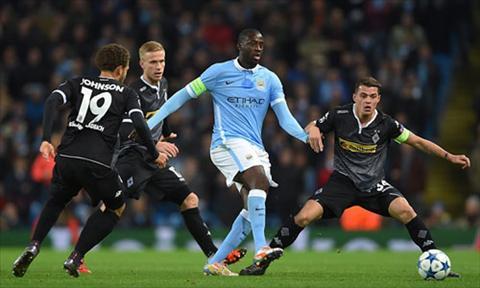 Video clip bàn thắng Man City vs M'Gladbach 4-2 Champio