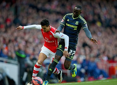 Truc tiep Arsenal vs Middlesbrough 23h00 ngay 152 vong 5 FA Cup hinh anh