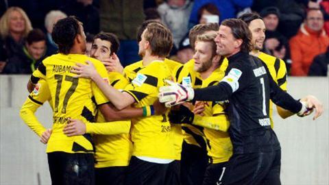 Video ban thang Stuttgart 2-3 Dortmund (Vong 22 Bundesliga 2014-2015) hinh anh