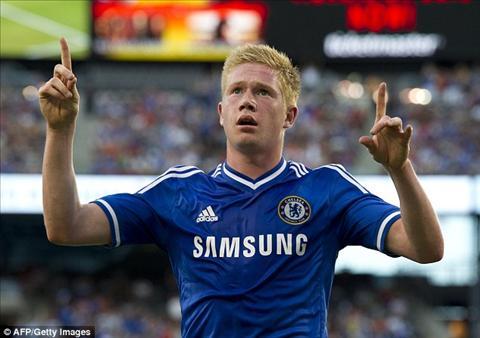 Kevin De Bruyne roi Chelsea, toa sang trong mau ao Wolfsburg hinh anh
