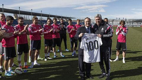 Ancelotti va Casillas chinh phuc cot moc moi o Real Madrid